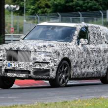 Rolls-Royce Cullinan SUV на Нюрбургринге