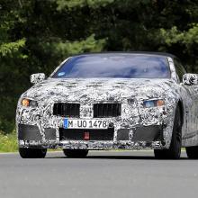 Кабриолет BMW M8 - шпионские снимки