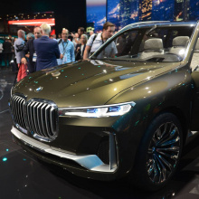 Франкфурт-2017 - BMW Concept X7 iPerformance