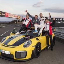 2018 Porsche 911 GT2 RS установил рекорд Нюрбургринга  6 мин 47,3 сек