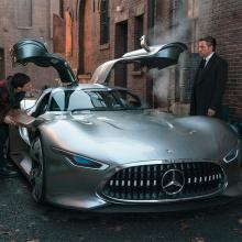 Бэтмен будет управлять Mercedes-Benz Vision GT в ''Лиге правосудия''