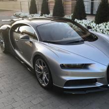 Криштиану Роналду прикупил Bugatti Chiron в свою коллекцию