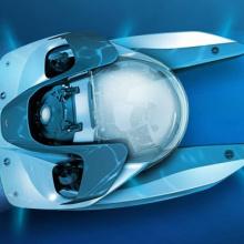 Aston Martin представил подводную лодку за 4 млн долларов на выставке яхт в Монако