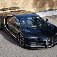 Первый Bugatti продается в Британии