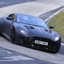 Следующее поколение Aston Martin Vanquish - первые шпионские снимки
