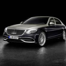 Фэйслифтинговый 2018 Mercedes-Maybach