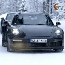 2020 Porsche 911 Turbo 992 поколения - шпионские снимки