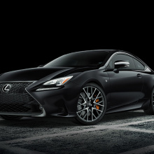 Lexus выпустит модели Black Line Edition