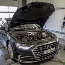 DTE Systems устанавливает специальный чип в Audi A8