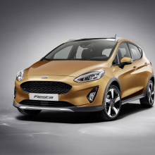 Ford демонстрирует детали новой модели Fiesta