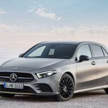 Седан Mercedes A-Class будет показан на следующей неделе