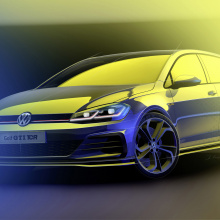 Volkswagen покажет следующий легендарный Golf