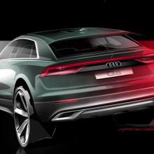 Audi выпустил тизер 2019 Q8