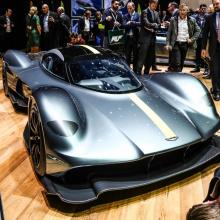 Aston Martin Valkyrie будет изготовлен из материалов, о которых автомобили F1 могут только мечтать