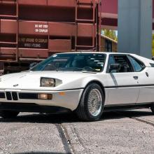 Вот ваш шанс приобрести почти полностью оригинальный BMW M1