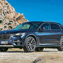 BMW X8 зарегистрирован во всем мире