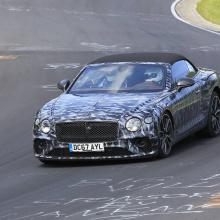 2019 Bentley Continental GTC провел окончательные испытания