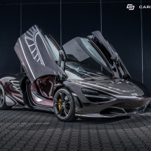 McLaren 720S получает потрясающий интерьер от Carlex Design