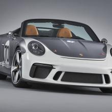 Porsche представил 911 Speedster Concept
