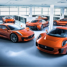 Jaguar рассматривает производство электрического гиперкара