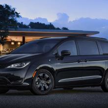 Chrysler представил эксклюзивный пакет S Appearance для гибридных моделей Pacifica