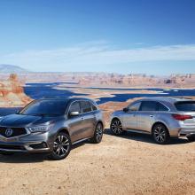 Acura демонстрирует детали нового внедорожника 2019 MDX