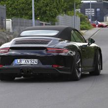 Porsche 911 GT3 Touring Cabriolet - первые шпионские снимки