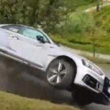 Ужасная авария 2018 Audi RS5
