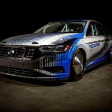 Volkswagen попробует установить рекорд на новой Jetta