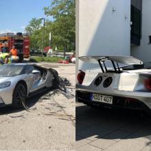 2018 Ford GT, сгоревший в Германии, заменен новым