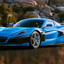 Rimac C_Two California Edition представлен в Лос-Анжелесе