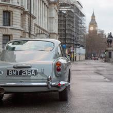 Aston Martin возрождает культовый автомобиль Goldfinger