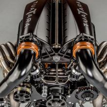 Двигатель для SSC Tuatara выглядит эпично