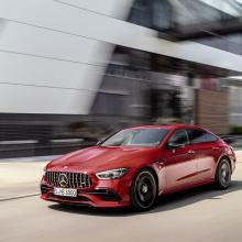 2019 Mercedes-AMG представил 2019 GT 43 и GT 53