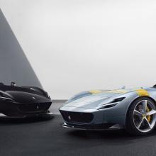 Ferrari представляет суперкары Monza SP1 и SP2