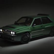 Lancia Delta Futurista с множеством современных технологий стоит 300 000 евро