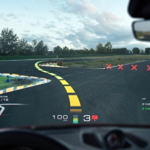 Cледующий Porsche может получить голограмму на лобовом стекле