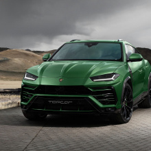 Lamborghini Urus в военном зеленом цвете и карбоне от TopCar