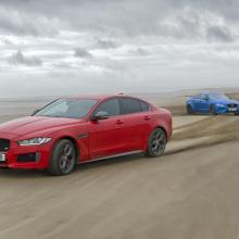 Jaguar XE 300 Sport и XE SV Project 8 cоздают современное искусство