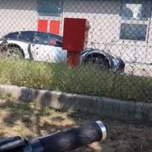 Первые снимки прототипа внедорожника Ferrari Purosangue