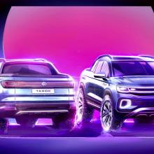 Команда Volkswagen с гордостью представляет новый Tarok Concept