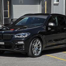 Швейцарская тюнинг-студия сделала BMW X4 еще более привлекательным