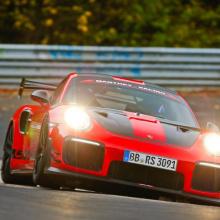 Porsche 911 GT2 RS MR новый король кольца со временем 6:40,3 мин
