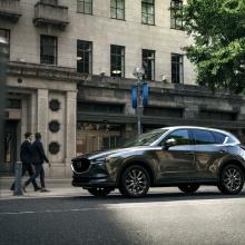 Mazda устанавливает новый двигатель SKYACTIV и технологию G-Vectoring в новый CX-5