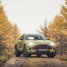 Aston Martin DBX SUV начнет тестирование в 2019 году