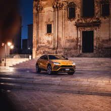 Lamborghini Urus покоряет Италию