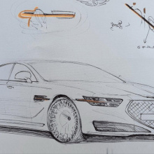 Вот как будет выглядеть 2020 Genesis G90