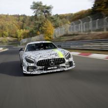 Ограниченное издание Mercedes-AMG GT R PRO дебютирует на автошоу в Лос-Анжелесе 2018