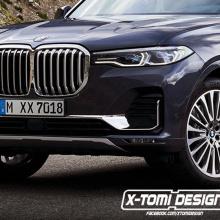 BMW X7 преобразуется в пикап, X7 M и X8