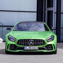 Mercedes представил обновленный AMG GT в Лос-Анджелесе